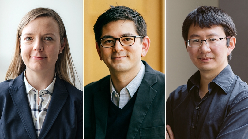 Professors Mirica, Chang, and Ke were honored by associations.